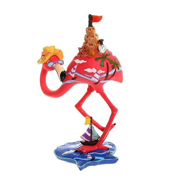 Сувенир из керамики ″Фламинго″18 см купить оптом и в розницу