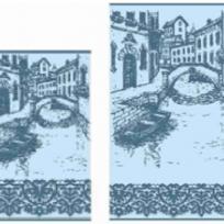 ПЦ-3502-2123 полотенце 70х130 махр п/т Venice цв.10000 купить оптом и в розницу