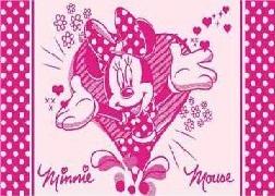 ПЦ-3502-1738 полотенце 70х130 махр п/т Minnie Love цв.10000 купить оптом и в розницу