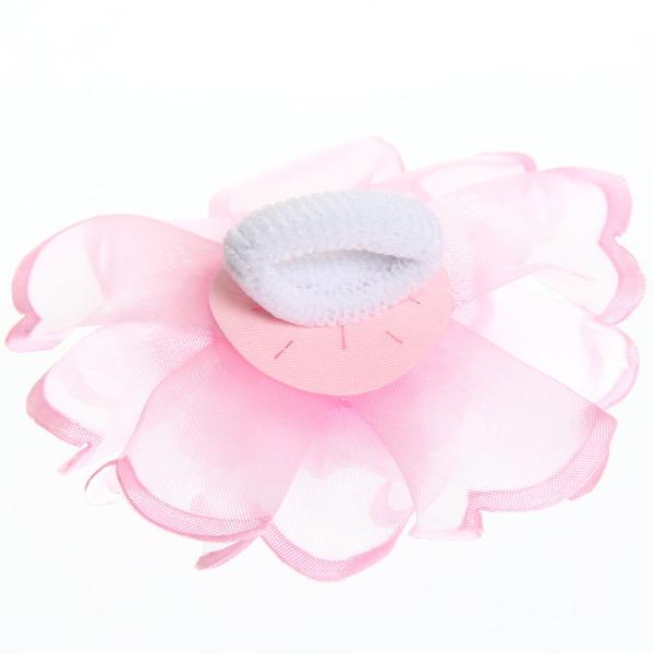 Бант для волос ″Тифани″, цвет микс, с розой d-8 купить оптом и в розницу