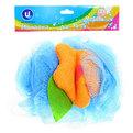 Мочалка для тела объемная ″Шар - Цветочек″ d-11см купить оптом и в розницу