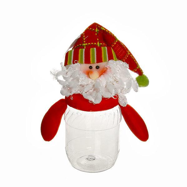 Подарочная упаковка 23 см ″Дед Мороз″ купить оптом и в розницу