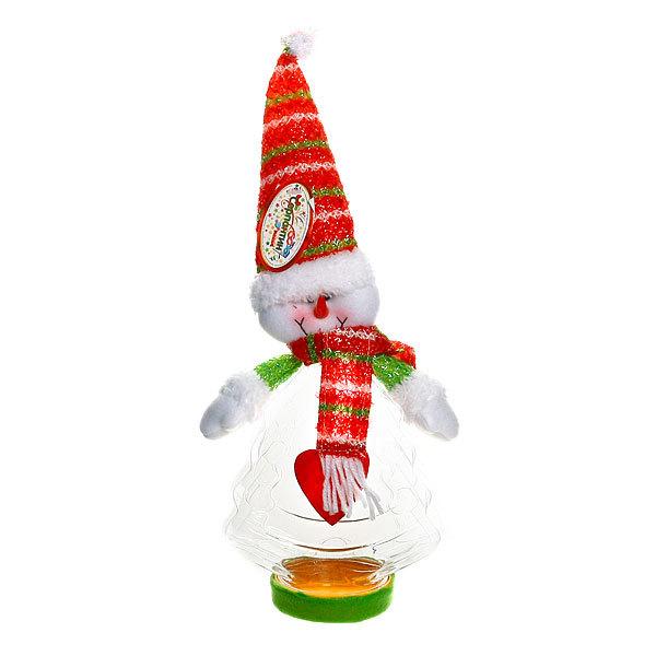 Подарочная упаковка 37 см Снеговичок купить оптом и в розницу
