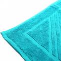 Махровое полотенце для ног 50*70см бирюзовое купить оптом и в розницу