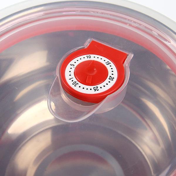 Контейнер для продуктов в наборе 4 шт с крышкой ″Радуга″ 250,400,800,1200 мл купить оптом и в розницу