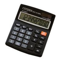Калькулятор CITIZEN настольный 10раз 124*102*25мм купить оптом и в розницу
