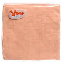 Салфетки бумажные 1сл. 50л Linia Veiro ассорти цветные однотонные купить оптом и в розницу