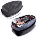 Губка для обуви с дозатором силикона, черная Сильвер Премиум /6/48 купить оптом и в розницу