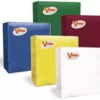 Салфетки бумажные 3сл. 20л ″Bouquet Solid Colour″ темно-синие (12) Запас 23 купить оптом и в розницу