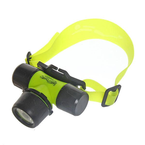 Фонарь налобный водонепроницаемый, 1 LED 3W 3 ААА купить оптом и в розницу