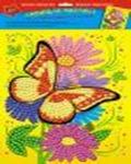 """Набор д/дет.творч.Мозаика """"Бабочка"""" сияющ. самокл. купить оптом и в розницу"""