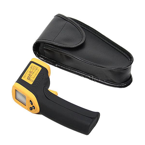 Термометр инфракрасный (-50-380 С) дистанционный с лазерным целеуказателем купить оптом и в розницу
