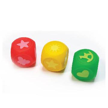 Рез. Набор д/ванны Кубики Учим цвета 3 шт. /Пома/ купить оптом и в розницу