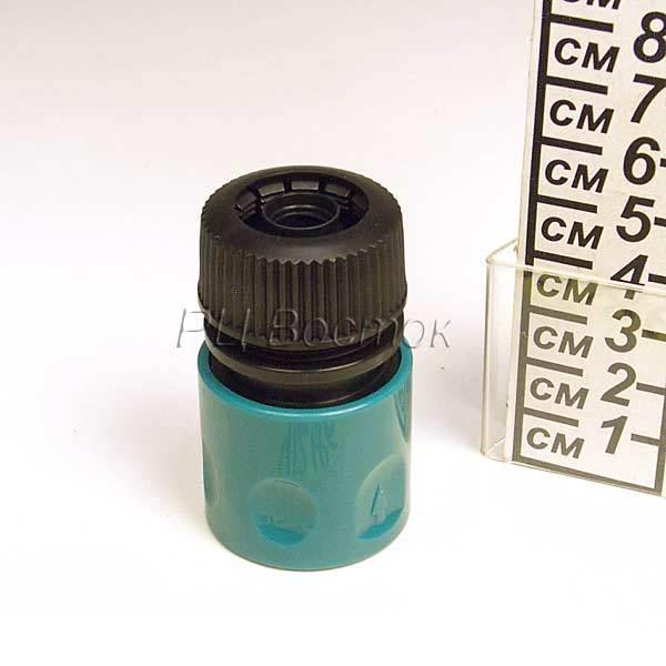 Фурнитура для шланга Переходник-адаптер 1/2″ JL-087 с затвором, блистер купить оптом и в розницу
