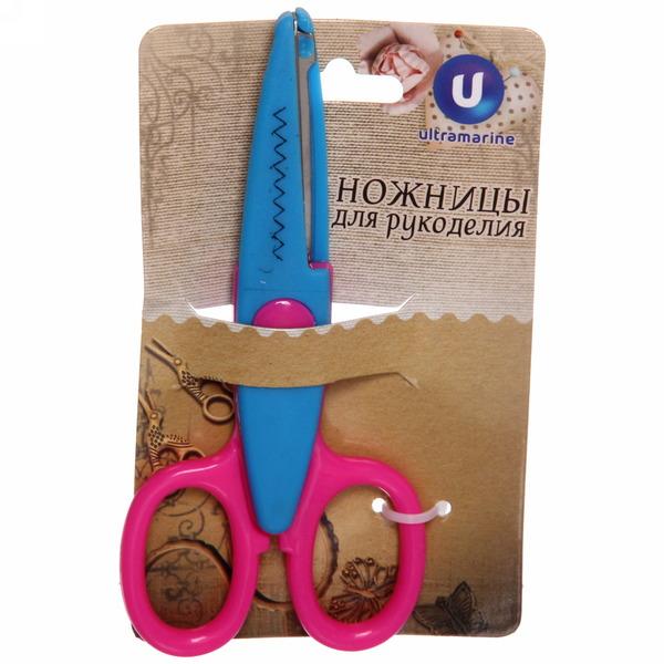 Ножницы фигурные 13,5см ″Зиг-заг″ купить оптом и в розницу