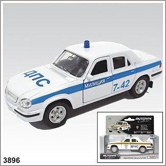 Модель ГАЗ 31105 Милиция 3896 1:43 купить оптом и в розницу