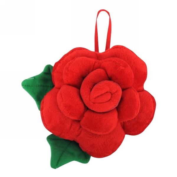 Подушка-игрушка декоративная 15см ″Роза″ купить оптом и в розницу