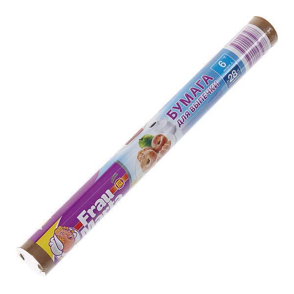 Бумага для выпечки 6м*28см двусторонняя,в пленке Фрау Марта купить оптом и в розницу