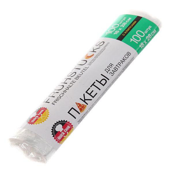 Пакеты для завтрака 18*28 см,с клипсами,100 шт QUICK COOK купить оптом и в розницу