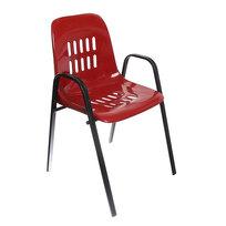 Стул с пластиковым сиденьем 51*50*83 см Лайт плюс бордо купить оптом и в розницу