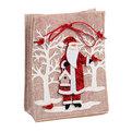 Сумочка подарочная 25*18*7,5 см ″Дед мороз″ купить оптом и в розницу