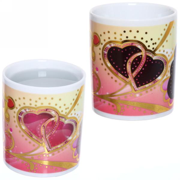 Кружка керамическая 320мл ″Love-3″ магическая купить оптом и в розницу