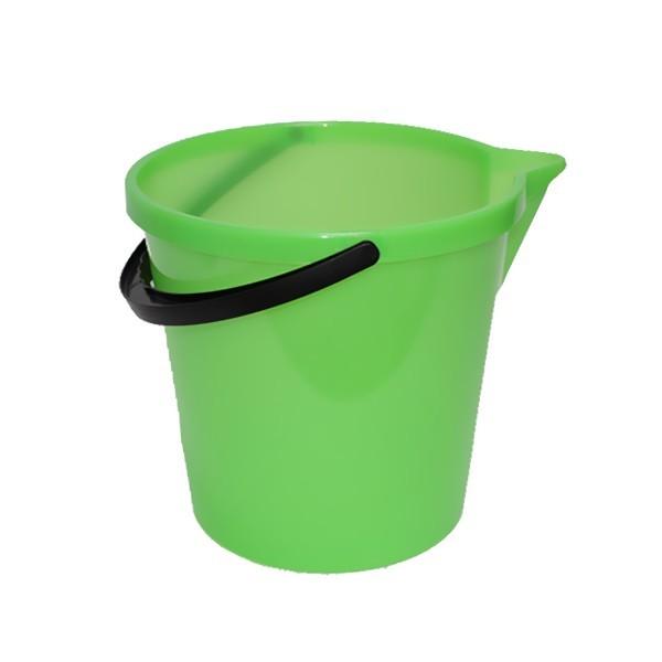 Ведро 12л с носиком зеленое купить оптом и в розницу