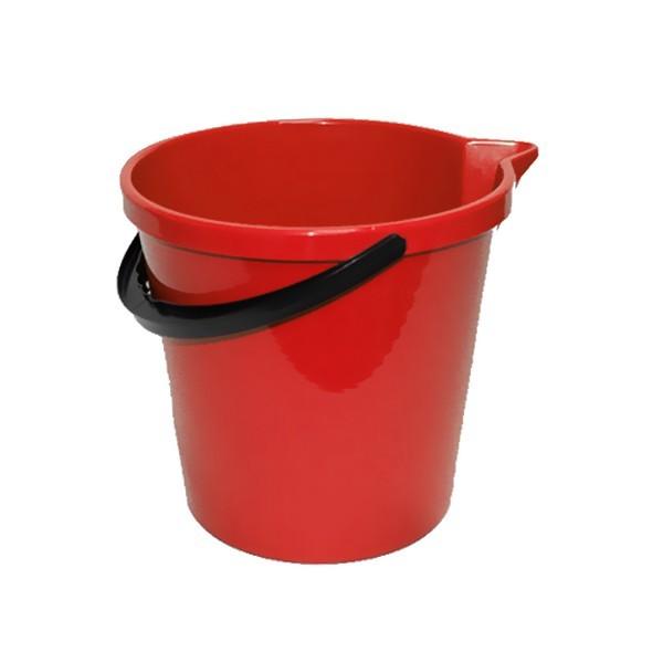 Ведро 12л с носиком красное купить оптом и в розницу