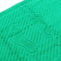 Махровое полотенце для ног 50*70см ярко-зеленое купить оптом и в розницу