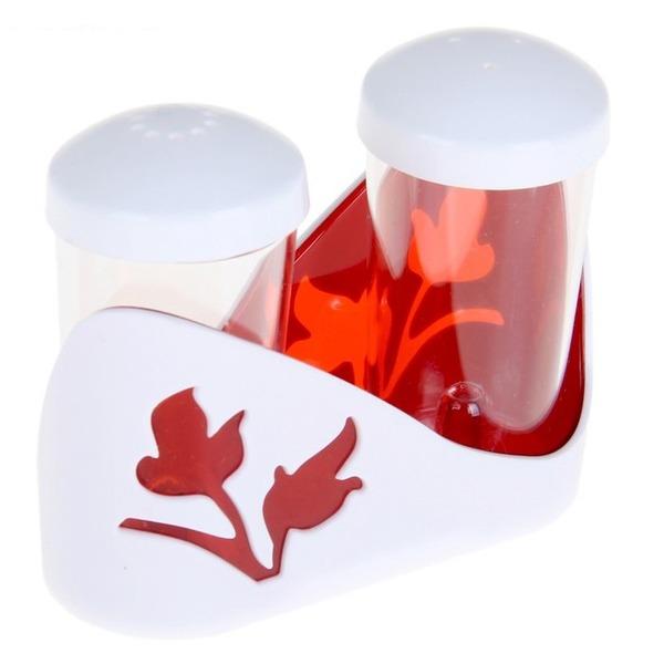 """Набор для специй """"Viola"""" (красный полупрозрачный)) *34 купить оптом и в розницу"""