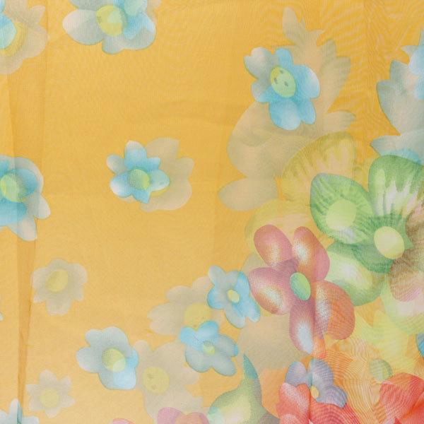 Парео ″Цветочки″ 150*100, цвет желтый купить оптом и в розницу