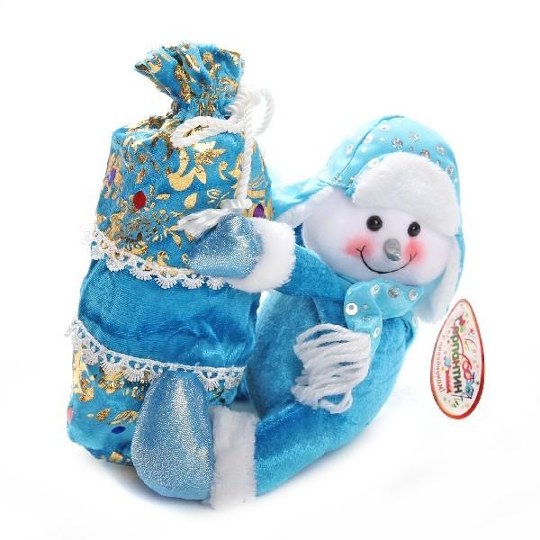 Мягкая игрушка Снеговик 21см купить оптом и в розницу