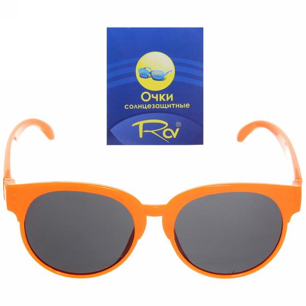 Очки солнцезащитные детские, форма овальная ″Baby″, однотонные, микс 6 цветов купить оптом и в розницу