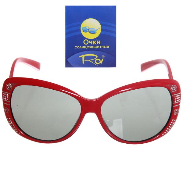 Очки солнцезащитные детские, форма бантик ″Baby″, однотонные с блестками, микс 6 цветов купить оптом и в розницу