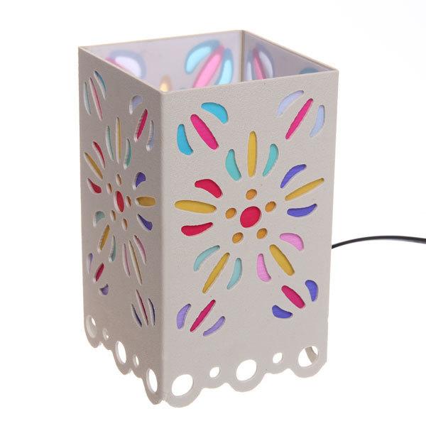 Светильник декоративный ″Цветы″, 17 см, 220 В купить оптом и в розницу