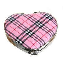 Зеркало косметическое под кожу ″Мода″ сердце 195-2 ″К″ купить оптом и в розницу