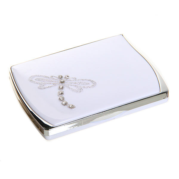Зеркало косметическое в коробочке ″Патрисия - стрекоза″ прямоугольник купить оптом и в розницу