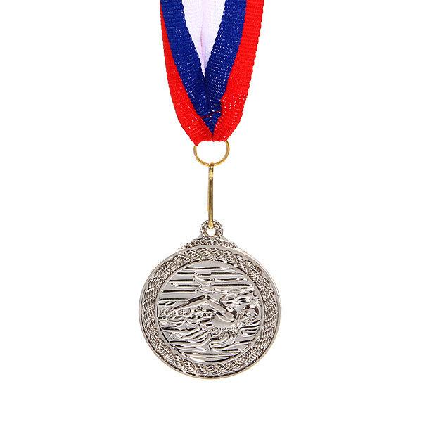 Медаль ″Плавание″ - 2 место (4,5см) 179 купить оптом и в розницу