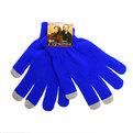 Перчатки однотонные ″Классика″ цвет синий, h-18см купить оптом и в розницу