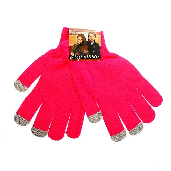 Перчатки однотонные ″Классика″ цвет розовый, h-18см купить оптом и в розницу