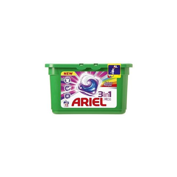 Гель в растворимых капсулах АРИЕЛЬ 12*28.8 Color & Style купить оптом и в розницу