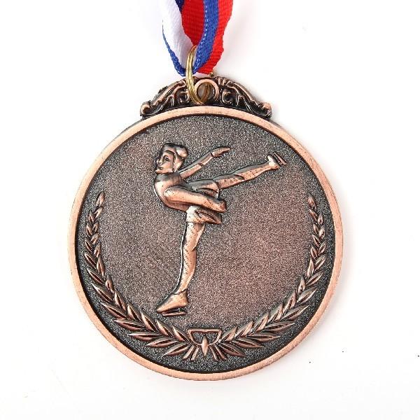 Медаль ″Фигурное катание″- 3 место (6,5см) купить оптом и в розницу