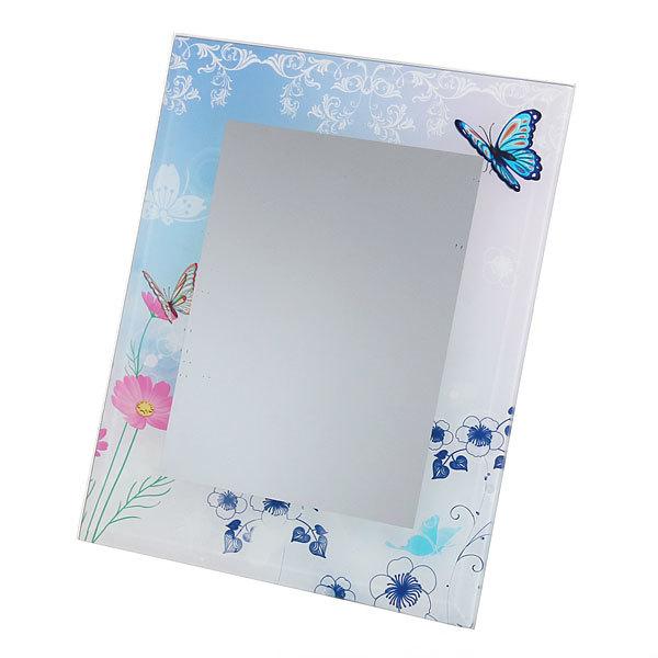 Зеркало настольное детское ″Бабочки″ без оправы купить оптом и в розницу