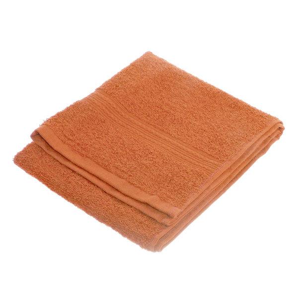Махровое полотенце 40*70см персиковое ЭК70 Д01 купить оптом и в розницу