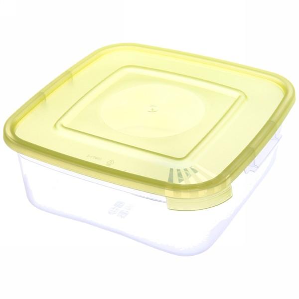Контейнер пластиковый пищевой ″Каскад″ 0,7л, квадратный *64 купить оптом и в розницу