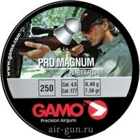 Пуля пневматическая Gamo Pro-Magnum, 4,5 мм, 0,49 гр (250 шт) купить оптом и в розницу