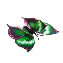 Украшение декоративное 7см Бабочка двойные крылышки на магните 6706-2 купить оптом и в розницу