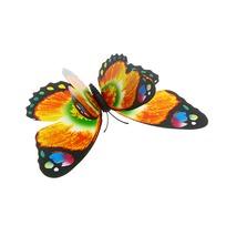 Украшение декоративное 12см Бабочка двойные крылышки на магните 6706-5 купить оптом и в розницу