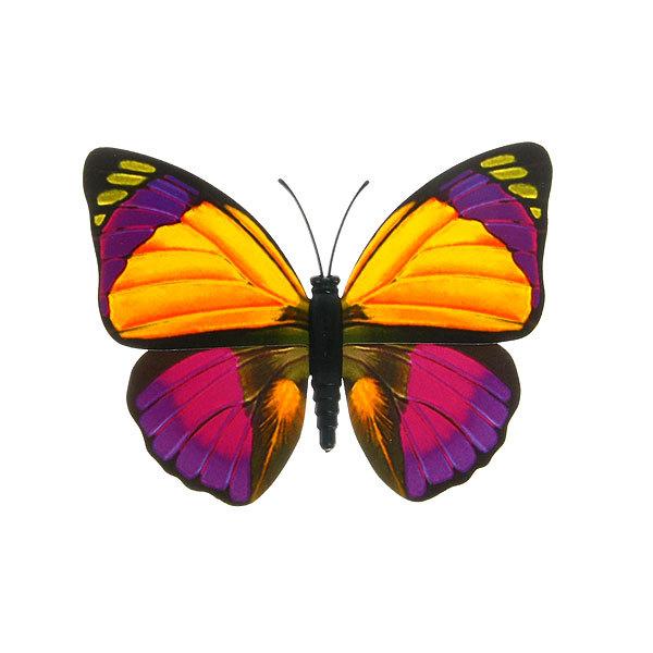 Украшение декоративное 9см Бабочка на магните 6706-7 купить оптом и в розницу