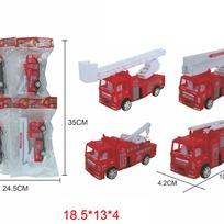 Машина инерц. 399-37 Пожарная в пак. купить оптом и в розницу